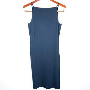 Emporio Armani Navy Blue Dress